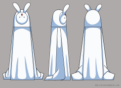 Character design for group animation