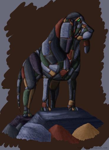 Original design for rock hound