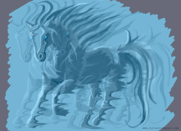 Original design for wind horse