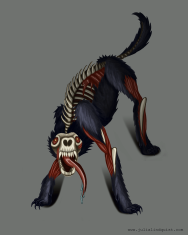 Post-Apocalyptic Zombie Wolf