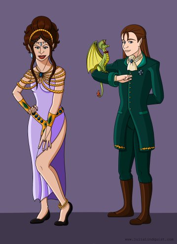 Apprentice and Enchantress Formal Wear