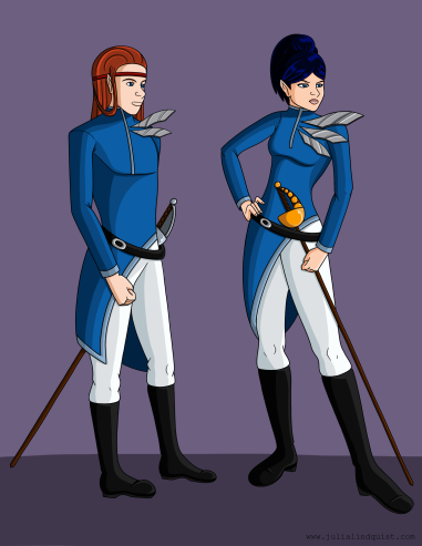General and Commander Formal Wear