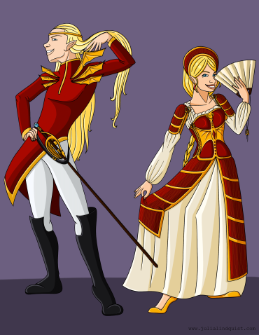 Prince and Princess Formal Wear